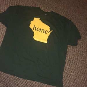 "Wisconsin Green Bay Packers ""Home"" T-Shirt"